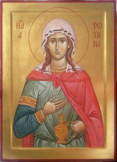 Icon of Saint Nina Byzantine Icons, Byzantine Art, Religious Icons, Religious Art, St Daniel, Religious Paintings, Orthodox Christianity, Orthodox Icons, Russian Art