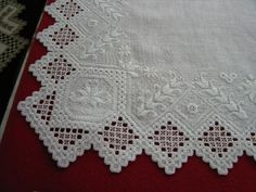 Hardanger piece that won 1st place in the 2006 Norway International competition.