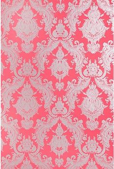 This would be so pretty for an accent wall in a girls room
