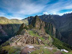 Macchu Picchu and the Galapagos
