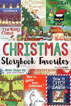 The ultimate list of the best Christmas storybooks for kids is HERE! It includes a mix of vintage, classic stories, as well as current authors and characters. Wrap, open, and read one of these books each day in December and excite children for the winter holidays! #christmasbooks #booksforkids #childrenliterature #christmasactivities