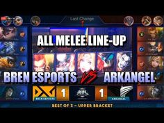 Bren VS Arkangel The series is all The winner of this match will go on to finals. It also means the winning team gets a ticket straight to the MSC Tournam. Mobile Legends, The Championship, Semi Final, Bang Bang, Esports, Season 3, Lineup, Finals, Youtube