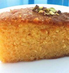 Greek Ravani / Revani recipe (Coconut cake with syrup)