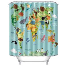 Pineapple shower curtain pineapple bathmat matching bath set 353 72x72 animal world map anti mildew shower curtain bathroom waterproof fabric gumiabroncs Image collections