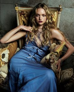 """vogue: """" From the moment she arrived on the scene in 2003, Gemma Ward was a sensation. Here, the Australian models best moments in Vogue. """""""