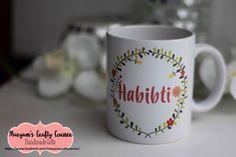 Hijabi Mugs, islamic Mugs, Arabic Mugs, Eid Gifts, Raamadan, Eid, Personalised Mugs, Islamic Gifts, Arabic Mugs,Muslim Gifts, Muslimah Hijab by MaryamsCraftyCorner on Etsy