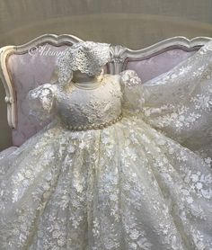 Lace Christening Gowns, Baptism Dress, Baby Christening, Baptism Party, Baby Girl Dresses, Bridal Dresses, Babyshower, Baby Boy Baptism Outfit, Blessing Dress