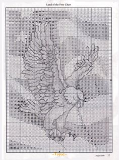 Beyond patriotic cool!!! Plastic canvas OR cross stitch. I can't wait to make this!!! Ur...rah!