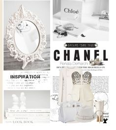 """White"" by renatademarchi ❤ liked on Polyvore"