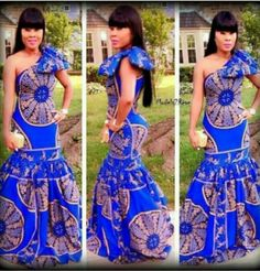 25 Beautiful African Print Maxi Dresses And Gowns For a Wedding Guest African Inspired Fashion, African Dresses For Women, African Print Dresses, African Print Fashion, Africa Fashion, African Attire, African Wear, African Women, African Prints