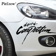 Car Styling Sticker The Spirition of Competition Vinyl Decal