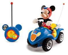 Mickey Club House – 180840 – Véhicule Miniature et Circuit Radio Commande – Quad RC Mickey | Your #1 Source for Toys and Games