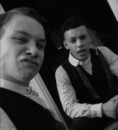 Finn Cole and Jordan Bolger