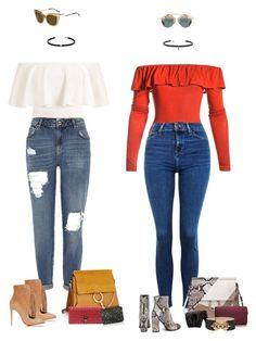 """""""Leave"""" by audrey-balt ❤ liked on Polyvore featuring Sans Souci, Topshop, Chloé, Dorothy Perkins, Just Cavalli, Christian Louboutin, Carbon & Hyde, Loewe, Empreinte and Alexander McQueen"""