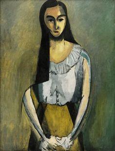 Matisse -L'Italienne ,1916