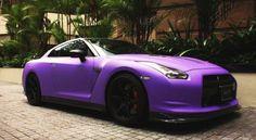 Nissan GTR Purple Cherry #CarFlash