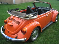 1972...I learned to drive a standard on one of these. It was my sister's (Pam) yellow bug.