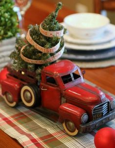 A Country Christmas. Use old buddy truck