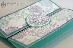 Stampin' UP! Delicate Doilies In Colors by First Hand Emotion