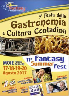 FESTA DELLA GASTRONOMIA E CULTURA CONTADINA (17 Agosto 2017)