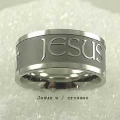 Men or Womens Stainless Steel Ring Religoius & Inspirational Cross Ring with Jesus Inscribed Size 10 Hail Mary Gifts,http://www.amazon.com/dp/B00BJLKU18/ref=cm_sw_r_pi_dp_ewIXrbEC8F424D84