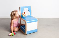 The coolest chair for kids, ever.