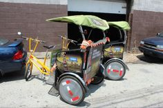 Have you tried a pedicab yet? Courtesy of @GreenGearsPGH & @DrinkIronCity