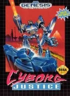 Complete Cyborg Justice - Genesis