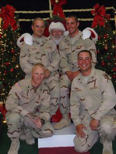 CHRISTMAS (Give2TheTroops Holiday Drive): requesting the following holiday items for the holiday care packages they're sending to the troops: DVD movies, photos or signed banners, handmade paper garlands, signed holiday cards or blank cards for them to send home, felt stockings or Santa hats, ornaments and decorations, and much more! #militarysupport www.operationwearehere.com