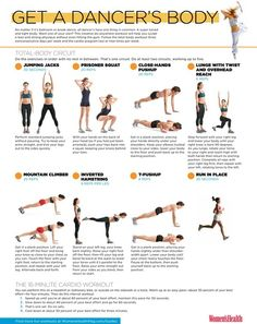 Ideas strength training for dancers workout - Fitness and Exercises Dancer Body Workouts, Dancers Body, Dancer Workout Plan, Dance Workouts, Body Exercises, Cardio Workouts, Workout Exercises, Hero Workouts, Dancer Stretches