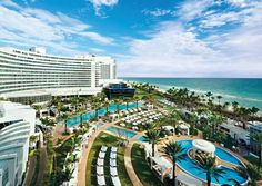 Fontainebleau Miami Beach is a Beach Resort in Miami Beach. Plan your road trip to Fontainebleau Miami Beach in FL with Roadtrippers. South Beach Miami, Miami Beach Resort, Miami Beach Hotels, Beach Resorts, Hotels And Resorts, Best Hotels, Miami Florida, Luxury Hotels, South Florida