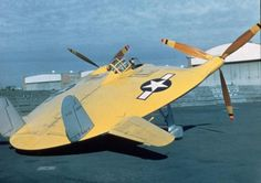 Vought V-173 Flying Pancake, experimental aircraft, flew its first flight on 23 November 1942.