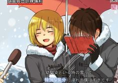 """Being out in the snow with my lover is really a wonderful feeling!"""