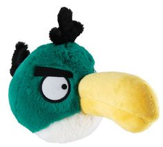 Angry Birds Plush 5Inch Toucan Bird with Sound ** To view further for this item, visit the image link.