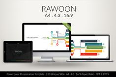 Check out Rawoon Powerpoint Template by izzatunnisa on Creative Market