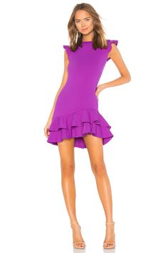 online shopping for Sleeveless Ruffle Hem Dress Susana Monaco from top store. See new offer for Sleeveless Ruffle Hem Dress Susana Monaco Ladies Dress Design, Women's Fashion Dresses, Pretty Outfits, Winter Outfits, Clothes For Women, Rebecca James, Trendy Fashion, Womens Fashion, Spring Weddings