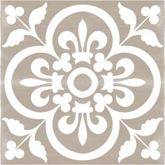 Vinyl Floor Tile Sticker – Floor decals – Carreaux Ciment Encaustic Corona Tile Sticker Pack in Grey Vinyl Floor Tile Sticker Floor decals Carreaux by QUADROSTYLE Floor Decal, Floor Stickers, Grey Flooring, Vinyl Flooring, Floors, Garage Flooring, Terrazzo Flooring, Cork Flooring, Flooring Ideas