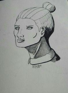 Inktober drawing no.5 #Inktober