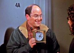 You stole her clock?
