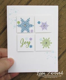 Snow is Glistening Christmas Cardmaking Class: Instant Digital Stamped Christmas Cards, Simple Christmas Cards, Homemade Christmas Cards, Stampin Up Christmas, Xmas Cards, Homemade Cards, Handmade Christmas, Holiday Cards, Christmas Diy