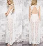 best maxi long white lace dress 2017 t in usa, canada , uk rends and ideas you can copy
