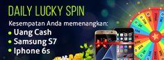 Daily Lucky Spin Kesempatan Anda untuk memenangkan hadiah dari dewafortune…