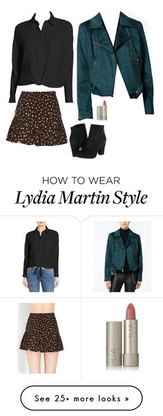 """Lydia Martin Inspired Outfit"" by daniellakresovic on Polyvore featuring Sun & Shadow, Forever 21, Wildflower and Ilia"
