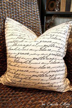 Sharpie Pillow