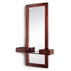Buy Teresa Dressing Table (Honey Finish) Online in India - Wooden Street Dressing Table Mirror, Dressing Tables, Wooden Street, Candle Sconces, Wall Lights, Honey, It Is Finished, India, Candles