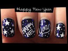 Happy New Year #nail #art