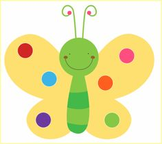 Love Bugs, Brown Paper, Yoshi, Crafts For Kids, Butterfly, Fictional Characters, Punch, Content, Number