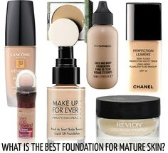 What is the best foundation for mature skin? Here are 11 recommended foundations from our beauty expert!