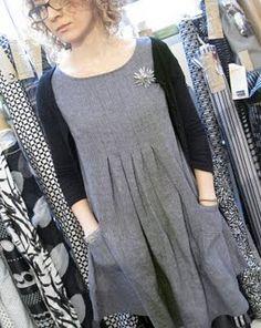 30099c5eefbe pattern review of Dress E from Stylish Dress Book 1. Enkla Klänningar, Mode  Klänningar