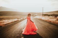 Elizabeth Dye Wildfire gown